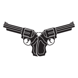 Crossed revolvers icon
