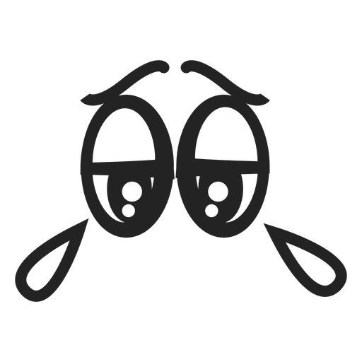 Cry emoticon eyes Transparent PNG