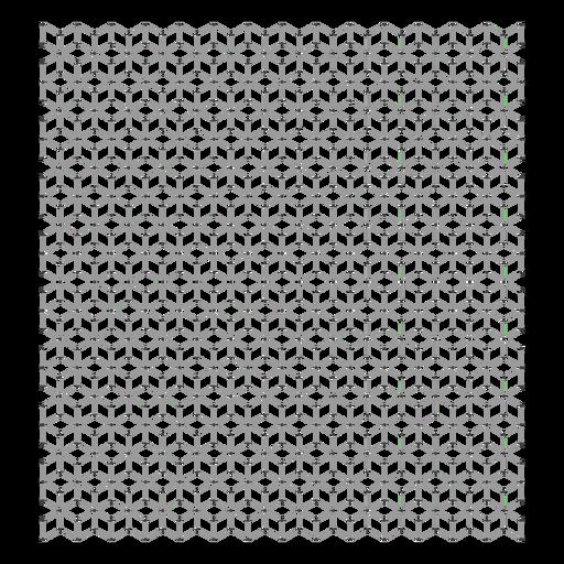 Diseño de cuadrícula cúbica