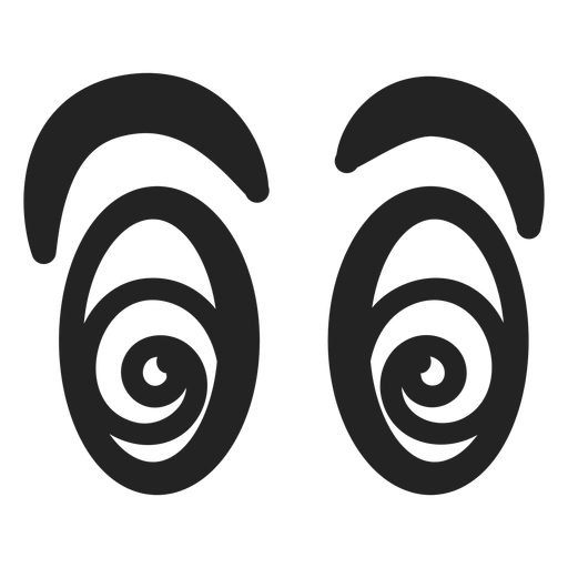 Dizzy emoticon eyes Transparent PNG