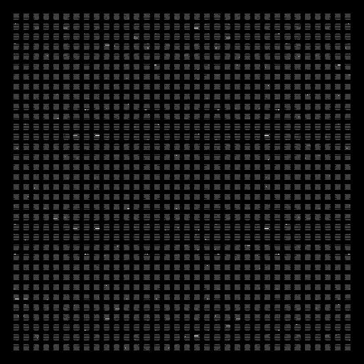 Design de grade de pontos