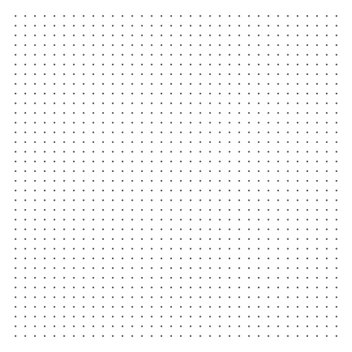 Dots grid design Transparent PNG
