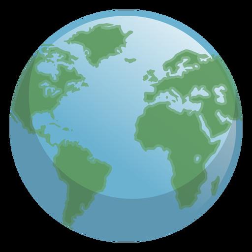 Ícone do dia da terra Transparent PNG