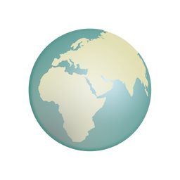 Ícone do globo da terra