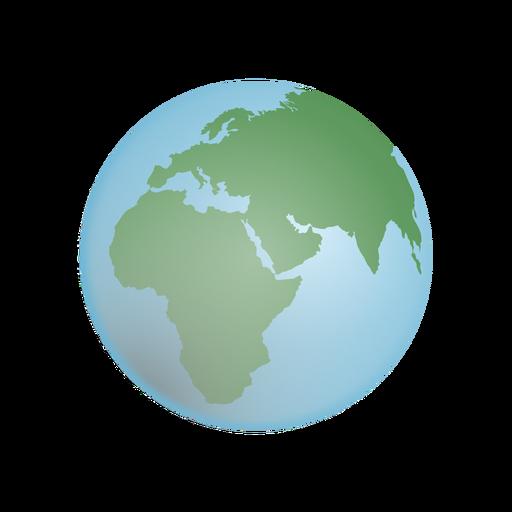 Earth globe illustration Transparent PNG