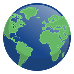 Earth night icon