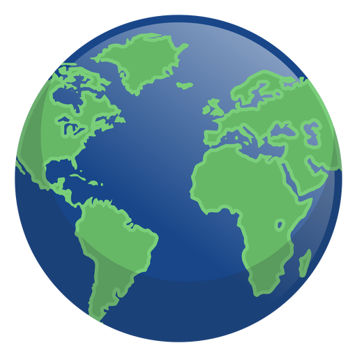 Earth night icon Transparent PNG