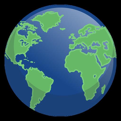 Icono de la noche de la tierra Transparent PNG