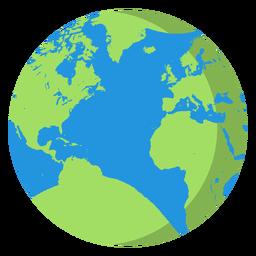 Ícone de planeta Terra ícone de terra