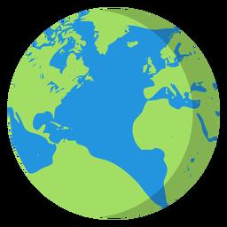Ilustración planeta tierra