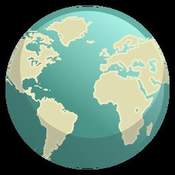 Icono de espacio de la tierra
