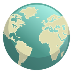 Icono del espacio de la tierra