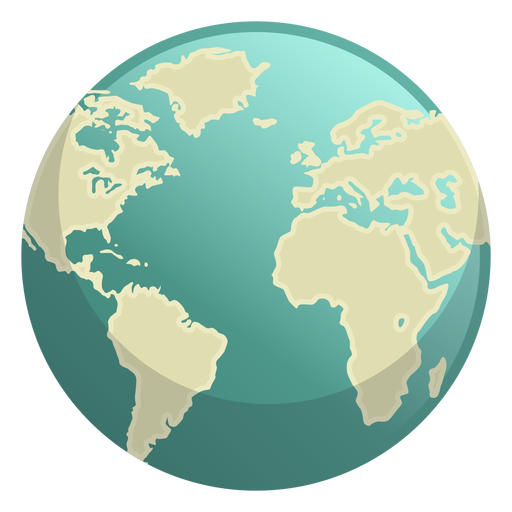 Earth space icon