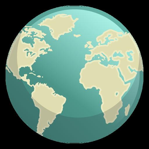 Icono de espacio de la tierra Transparent PNG