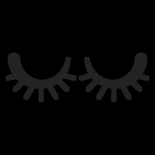 Emoticon schloss die Augen Transparent PNG