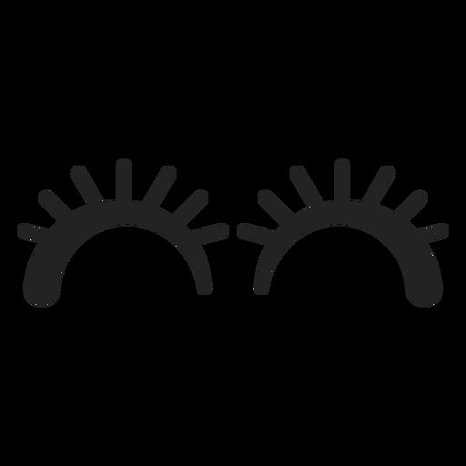 Emoticon schlägt die Augen Transparent PNG