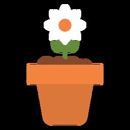 Flor em ícone de maconha