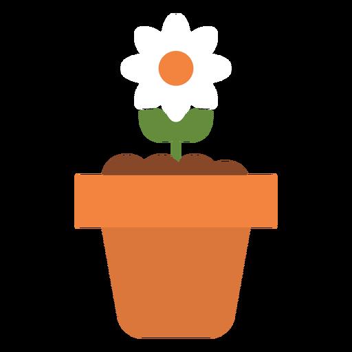Blume im Topf-Symbol Transparent PNG