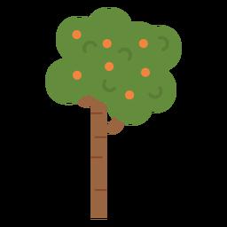 Icono de arbol de frutas