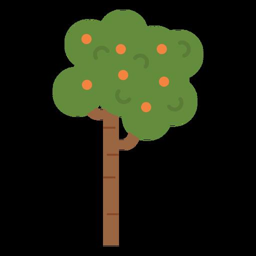 Icono de arbol de frutas Transparent PNG