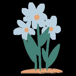 Elemento de flores do jardim