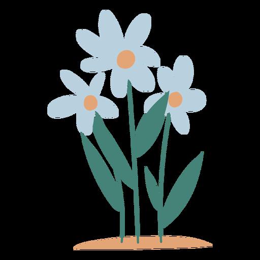 Elemento de flores de jardín Transparent PNG