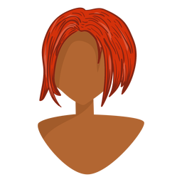 Ginger hair icon