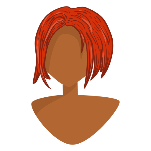 Ícone de cabelo gengibre Transparent PNG