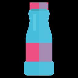 Ícone de garrafa de água de vidro