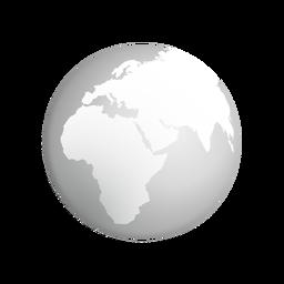 Icono de tierra gris