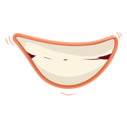 Grinning mouth icon