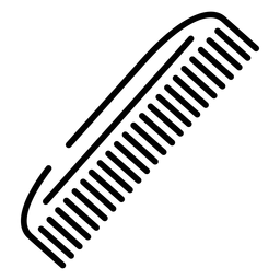 Icono de peine de pelo icono de pelo