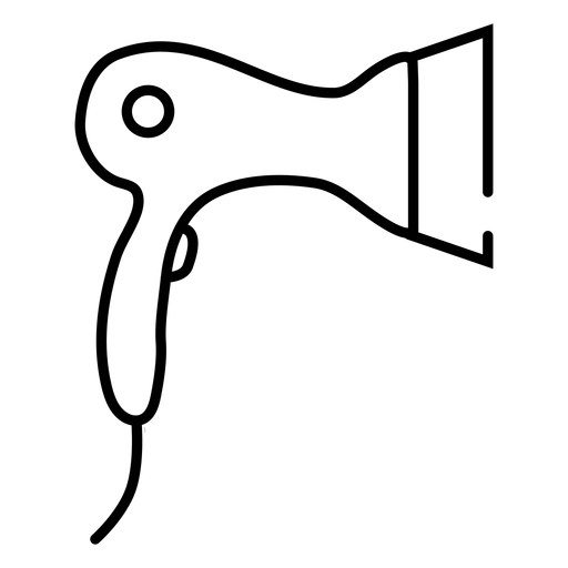 Ícone secador de cabelo Transparent PNG