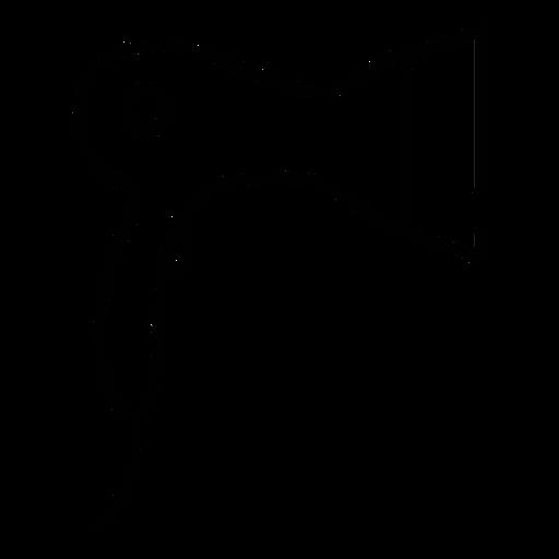 Icono de secador de pelo Transparent PNG