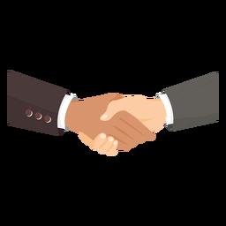 Hands handshake de ilustração