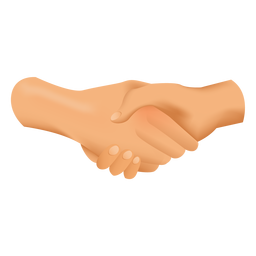 Handshake drawing illustration