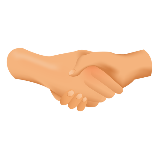 Handshake drawing illustration