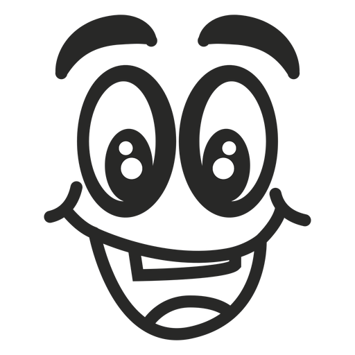 Happy emoticon face