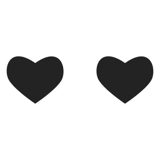 Inlove emoticon heart eyes Transparent PNG