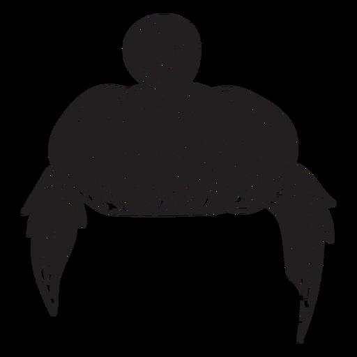 Icono de pelo de pan de hombre Transparent PNG