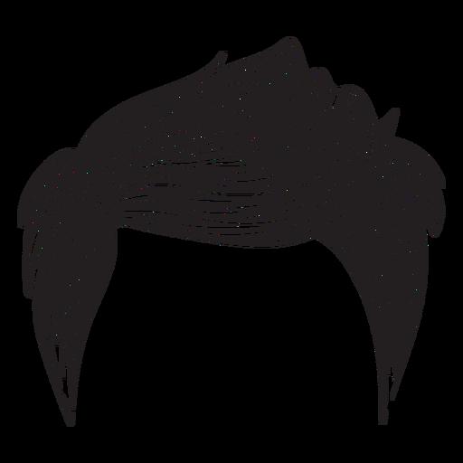 Icono de estilo de pelo de los hombres Transparent PNG