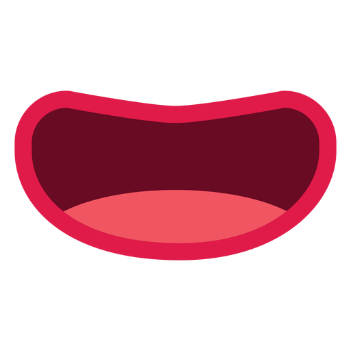 Mouth isolated icon Transparent PNG