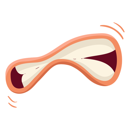 Mouth isolated illustration Transparent PNG