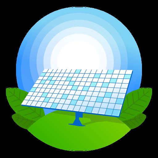 Ícone do painel solar natureza Transparent PNG