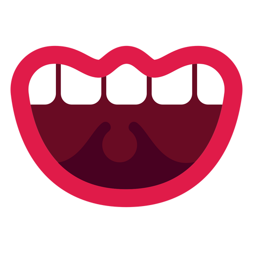 Open mouth illustration Transparent PNG