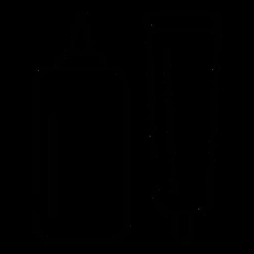 Icono de trazo de embalaje Transparent PNG