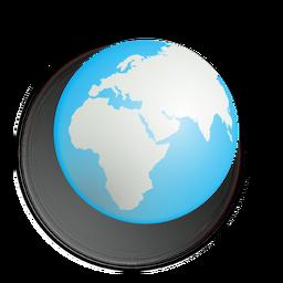 Icono del planeta tierra