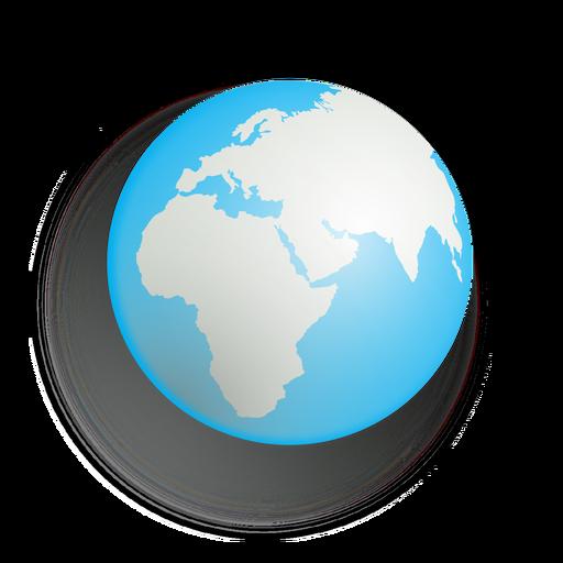 Planet Erde Symbol Transparent PNG