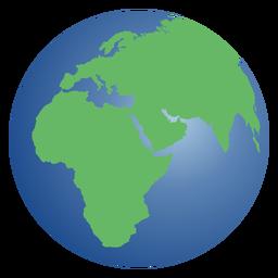 Planet Erde Abbildung