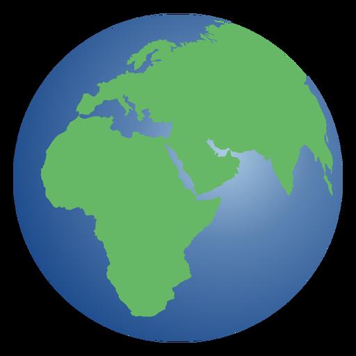 Planet earth illustration Transparent PNG